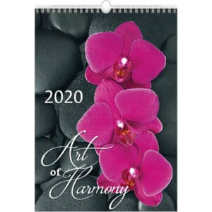 Muurkalender Art of Harmony 2020