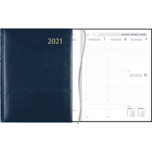 Agenda Business 2021 blauw