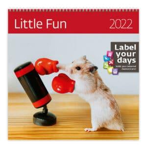 Muurkalender Little Fun 2022