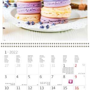 Muurkalender Provence 2022 Januari