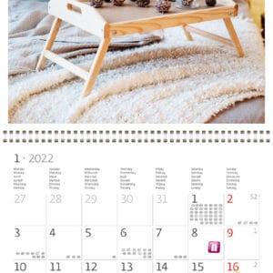 Muurkalender Hygge 2022 Januari