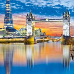 Muurkalender Cities of Europe 2022 Januari