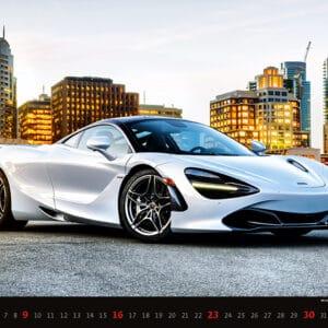 Muurkalender Cars 2022 Januari
