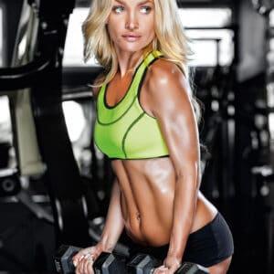 Muurkalender Fitness Girls 2022 Januari