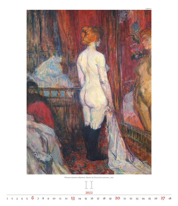 Kunstkalender Impressionism 2022 Februari