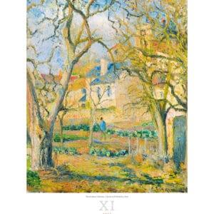Kunstkalender Impressionism 2022 November