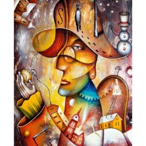 Kunstkalender Art Naive 2022 Januari