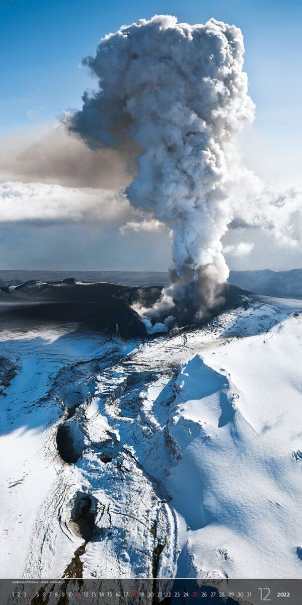 Muurkalender Vertical Photo 2022 December