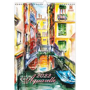 Kunstkalender Aquarelle 2022