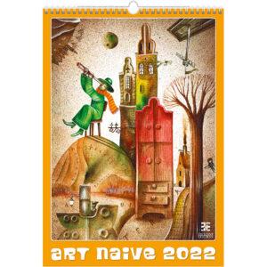 Kunstkalender Art Naive 2022