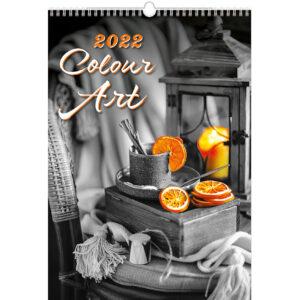 Muurkalender Colour Art 2022
