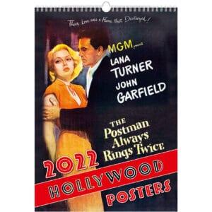 Muurkalender Hollywood Posters 2022