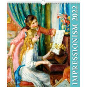 Kunstkalender Impressionism 2022
