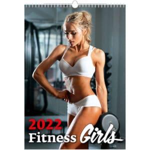 Muurkalender Fitness Girls 2022