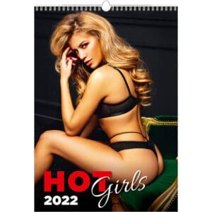 Muurkalender pinup Hot Girls 2022