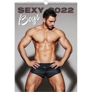 Muurkalender Sexy Boys 2022