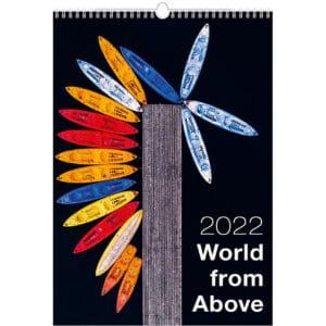 Muurkalender World from Above 2022
