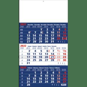 3-maandkalender 2022 Focus