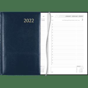 Agenda Daily gebonden 2022 blauw