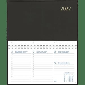Novoplan spiraal zwart 2022