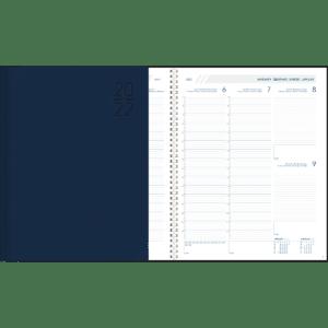 Plan-a-week Spiraal 2022 blauw