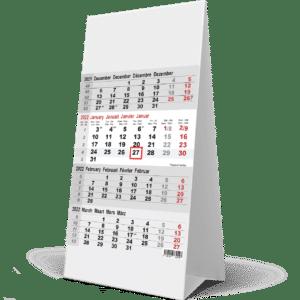 Kantoorkalender 4 maanden 2022