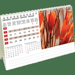 Kantoorkalender Colours of Nature 2022 Januari