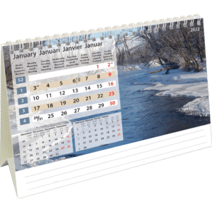 Kantoorkalender Daydreams 2022 Januari