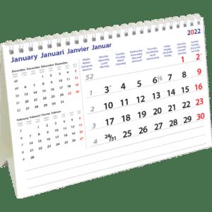 Kantoorkalender International 2022