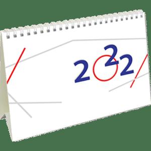 Kantoorkalender International 2022 Cover