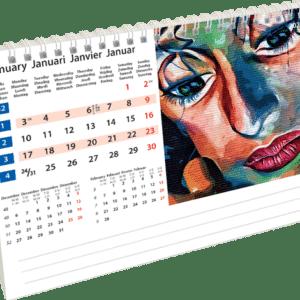 Kantoorkalender Street Art 2022 Januari