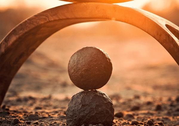 Muurkalender Meditation 2022 Oktober