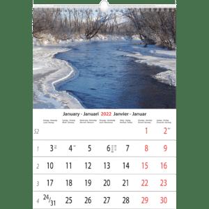 Muurkalender Daydreams 2022 Januari