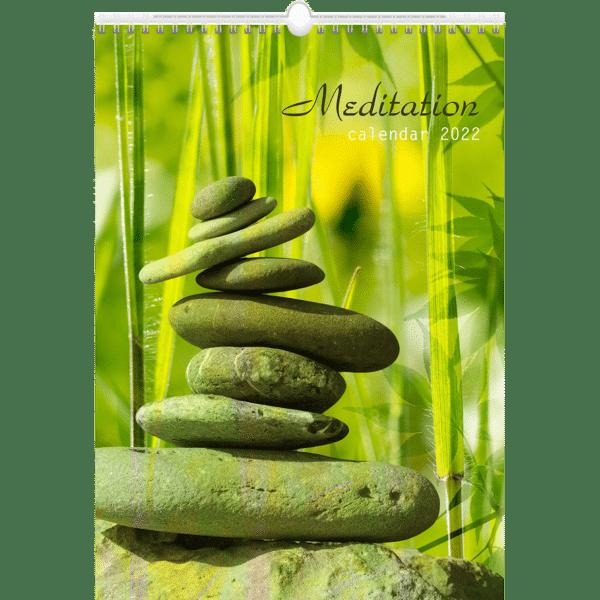 Muurkalender Meditation 2022