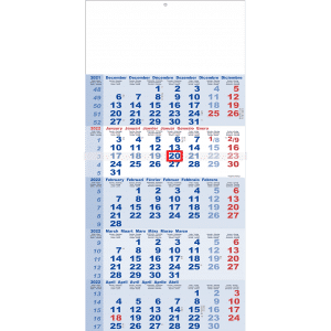 5-maandkalender Classic 2022